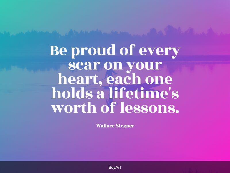 greatest scars quotes