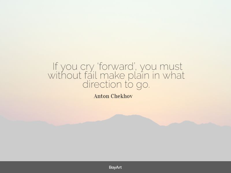 powerful direction quotes