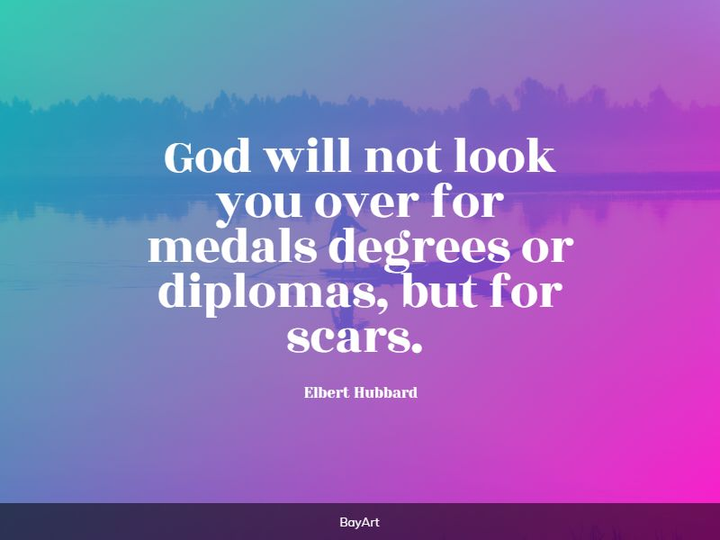 powerful scars quotes