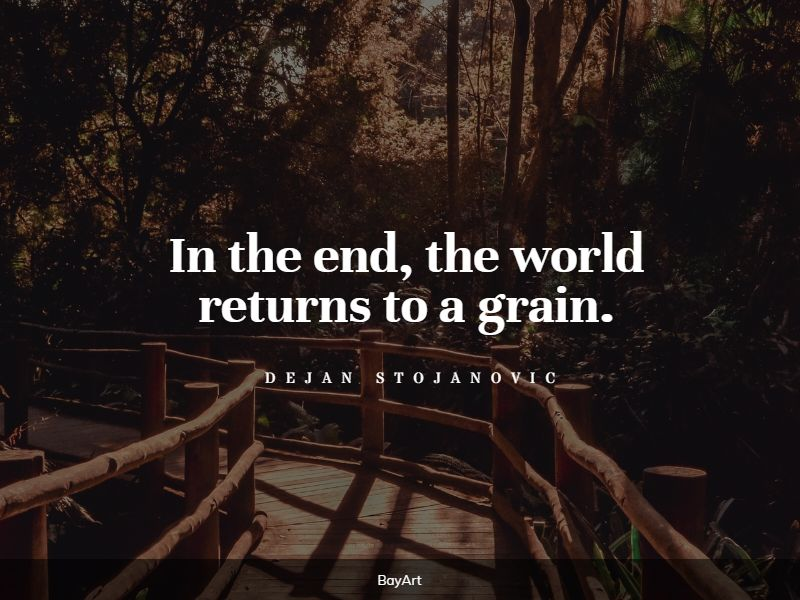 top the end quotes