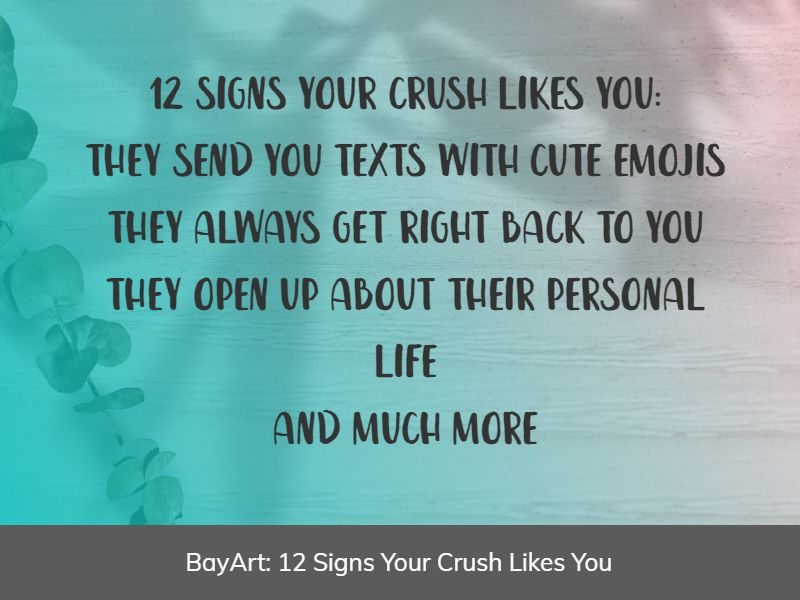 signs your crush likes you