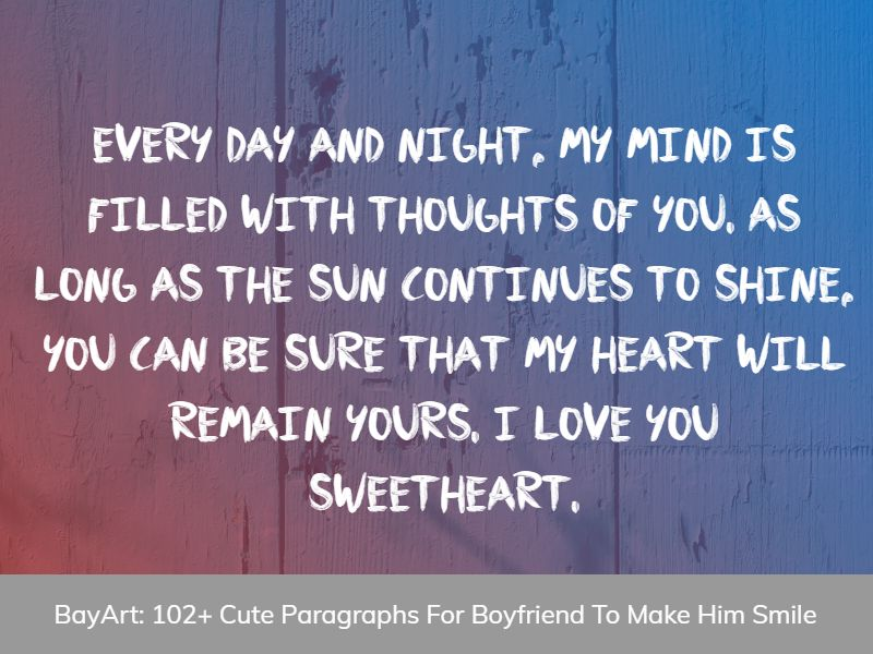 love paragraph for boyfriend